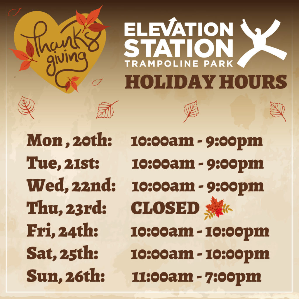 Park Thanksgiving Hours 100 Images Eastern Athletic Nyc Hours The Big Event At Universal